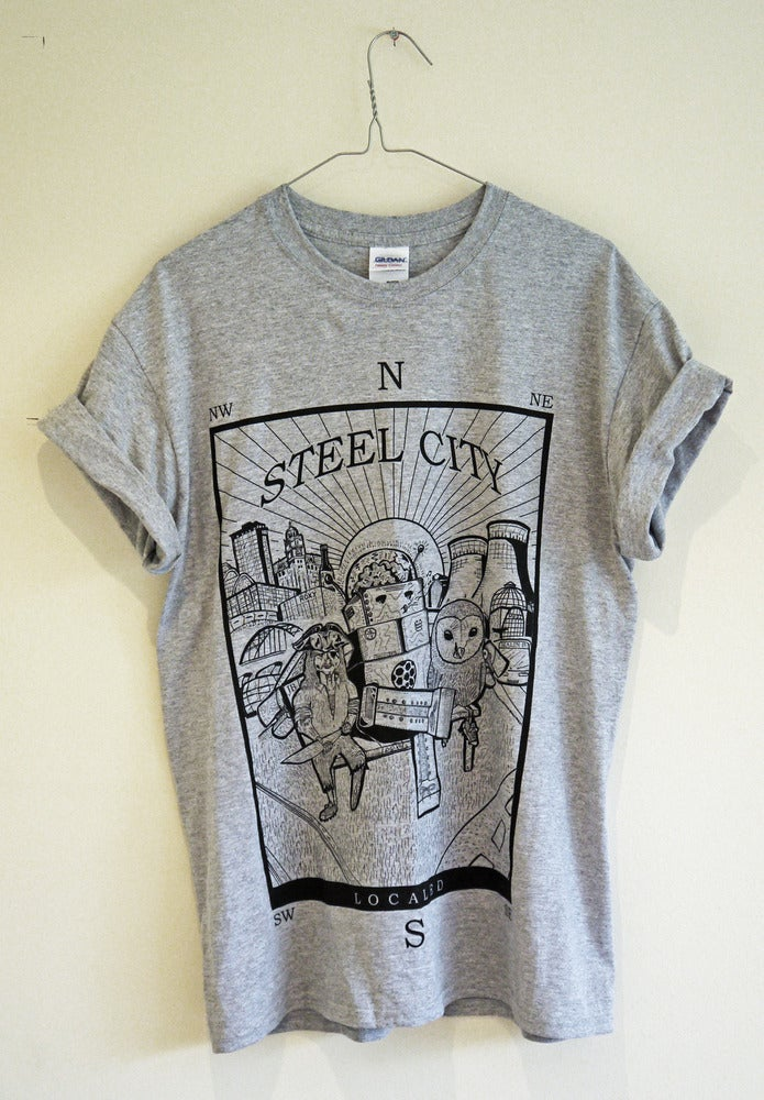 Image of Steel City (Grey)