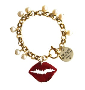 "Image of ""A Kiss On The Hand"" Bracelet"