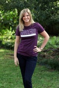 Image of Plum - Women's Fitted Tee