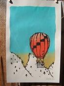 Image of Bird, balloon, banjo, boots