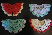 Image of Block Color Crochet Collar
