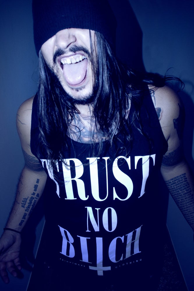 Image of TRUST NO BITCH - uni sex tank