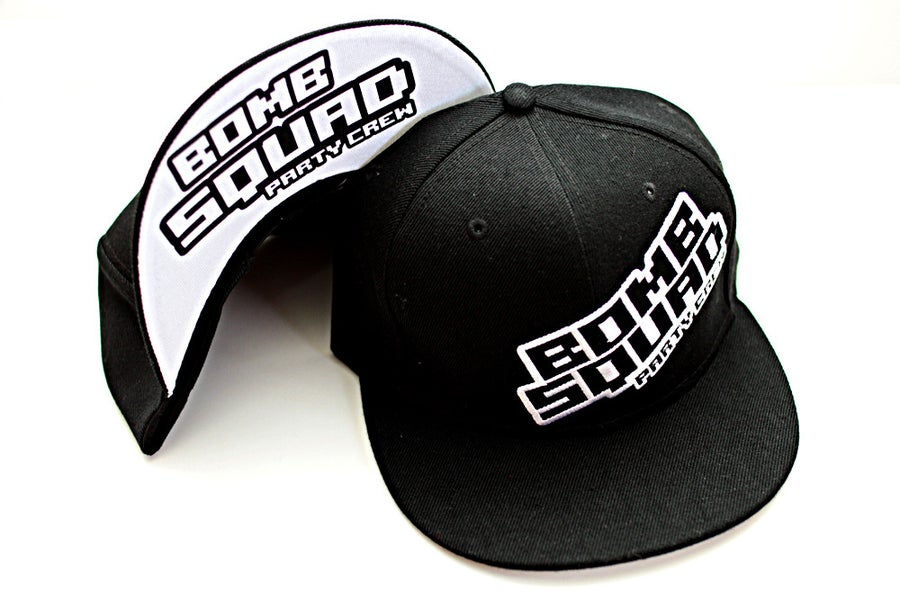 Image of Bomb Squad Snapback - Black and White