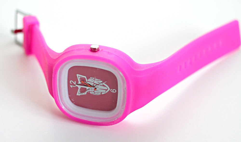 Image of BOMB AWAY WATCH - PINK!