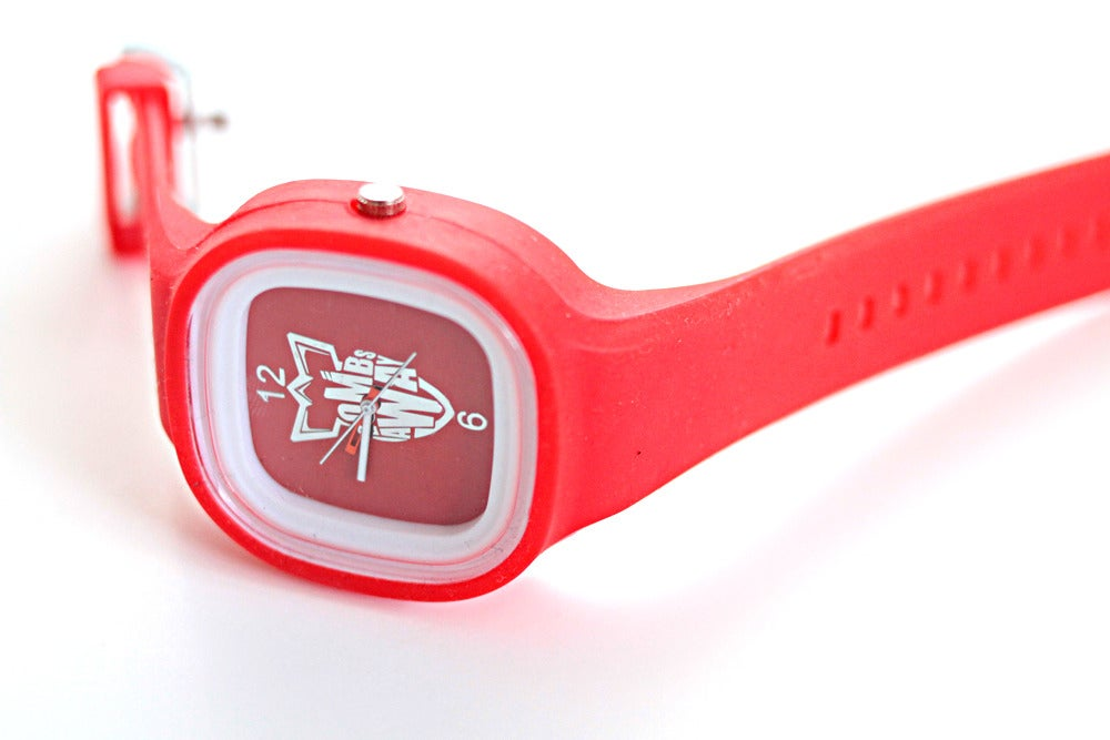 Image of BOMB AWAY WATCH - RED!
