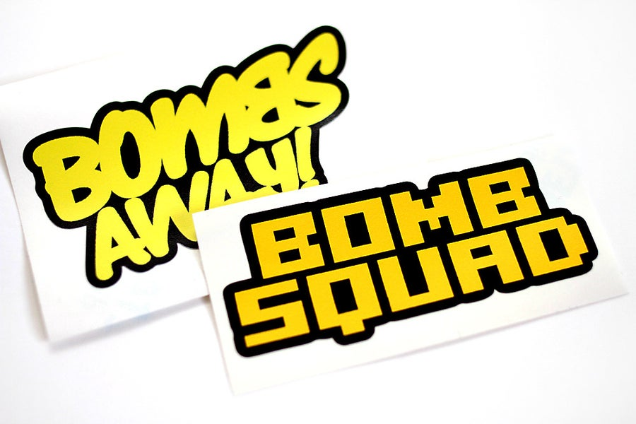 Image of Sticker Pack - Bombs Away and Bomb Squad