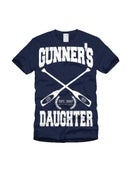 Image of Gunners Daughter Row Team Navy Blue T-Shirt