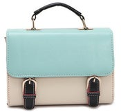 Image of Leather Handbag Tote