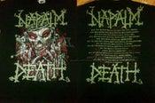 Image of NAPALM DEATH 2011 Tour Shirt