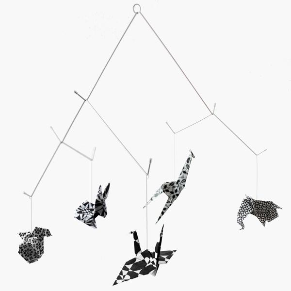 Image of Zoo mobile - Black & White