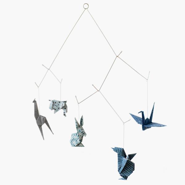 kidivist  u2014 zoo mobile - chyogami bleu