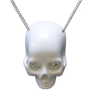 Image of Skull Necklace (Crystal Eyes)