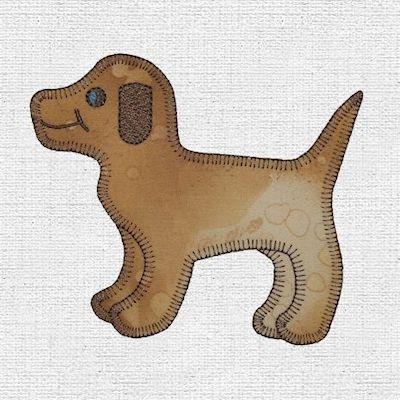 Image of Gingham Dog