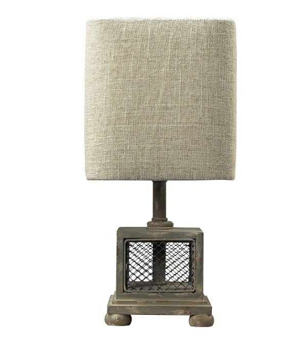 Image of Chicken Wire Mini Table Lamp