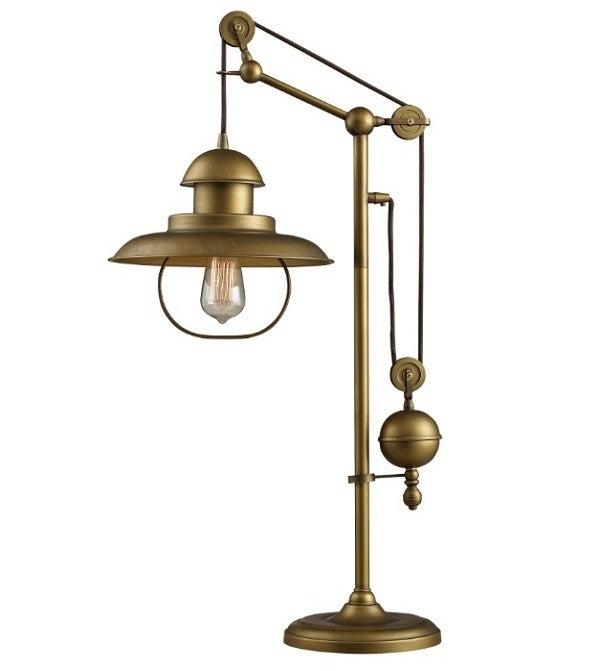 Image of Unique, Adjustable Table Lamp