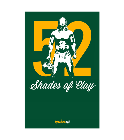 Image of 52 Shades of Clay™ Poster