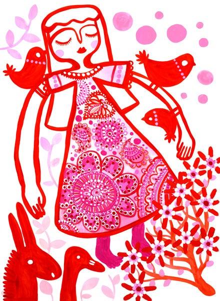 Image of Girl From Takadanobaba Print