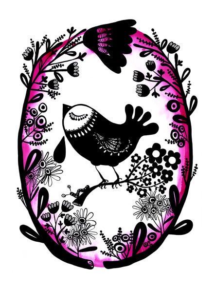 Image of Joy All Creature Drink Print