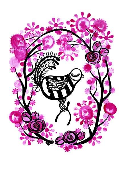 Image of Love Token Print