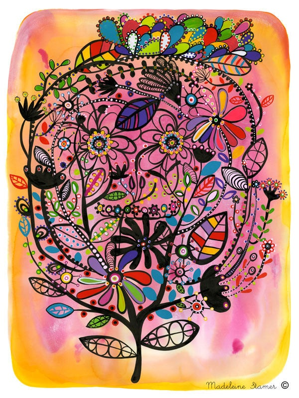 Image of Sweet Calavera Print