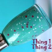 Image of Nail Polish: Thing 1 and Thing 2 - Glitter Nail Polish