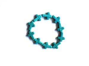 Image of cross bracelet