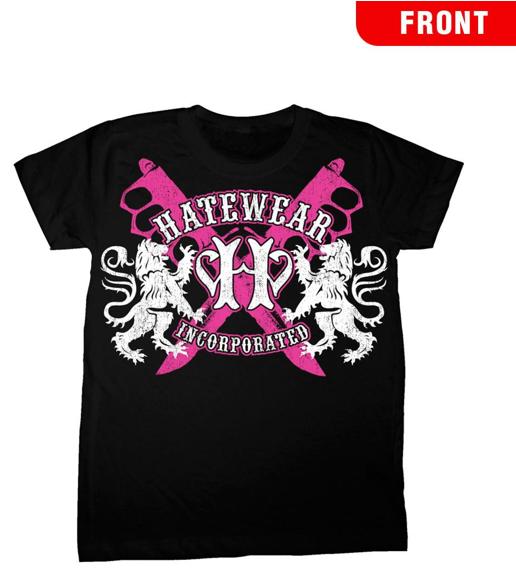 Image of Hatewear Lions Logo Women's T-Shirt