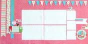 Image of I Love You Double Page Layout Kit