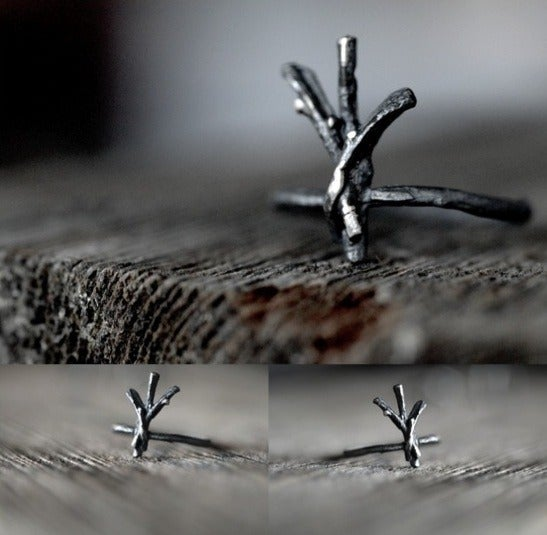 Image of ALGIZ rune ring