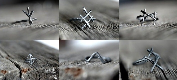 Image of Rune Rings<br>Set of 6