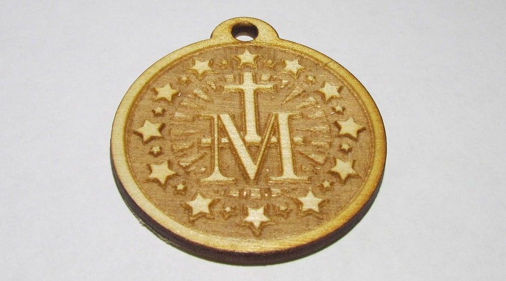 "Image of Marian ""MTA"" Pendant"