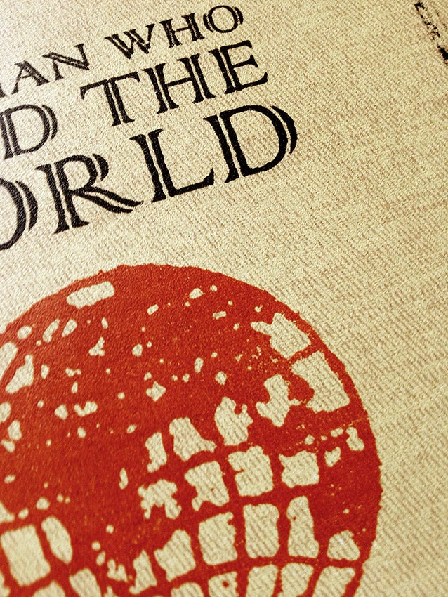 Image of The Man Who Sold The World Screen Print Limited Edition