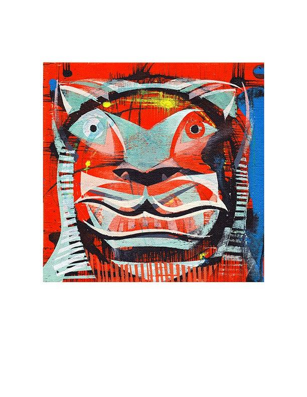 Image of Jaguar Mask 2