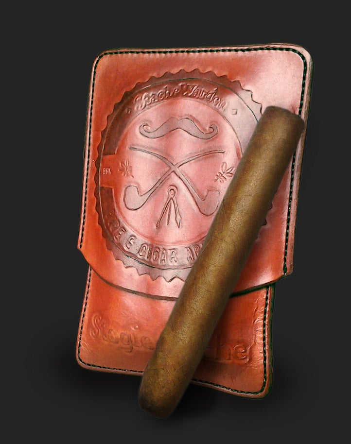 Image of StogieStache Leather Cigar Case | Accessories