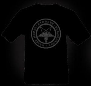 "Image of BLODARV T-shirt ""Bornholmsk Black Metal"" 2012"