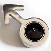 Image of Gender Symbol Tealight Holder - Male