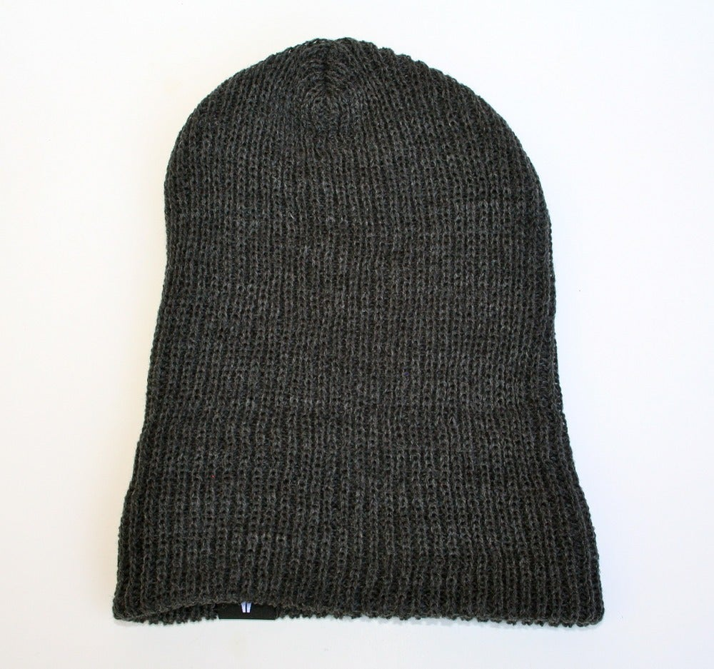 Image of ON SALE - Beanie - Salary Cap / Charcoal -mantis united