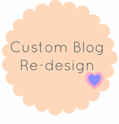 Image of Custom Blogger Design