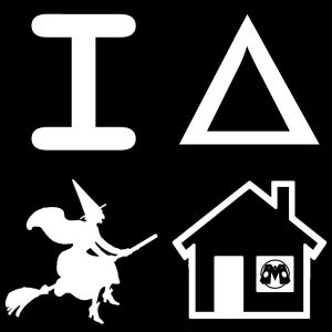 Image of I [triangle] Witch House shirt