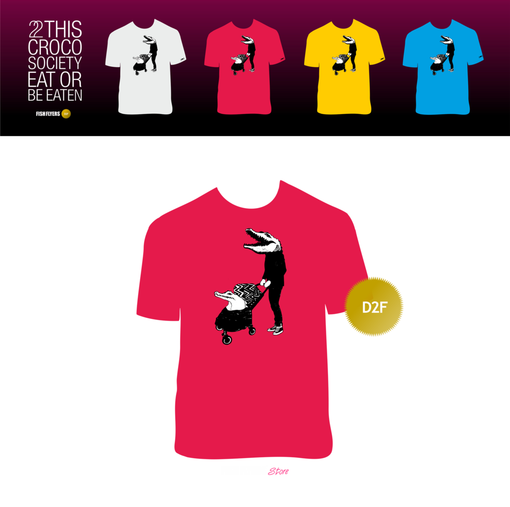 Image of #1 | Croco society D2F T-Shirts