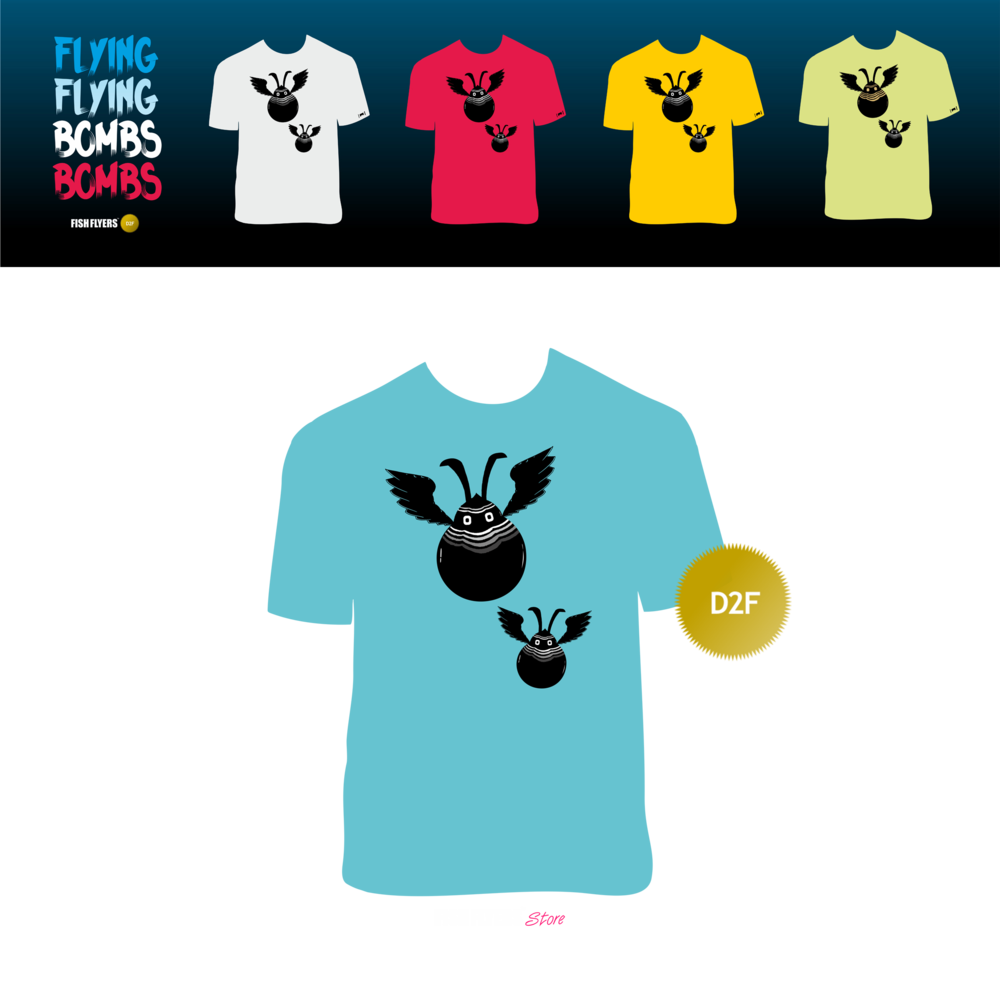 Image of #2 | Flying Bombs D2F T-Shirts