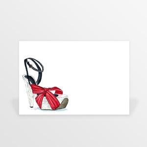 Image of shoe fetish flat cards (set of ten)