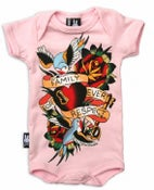 Image of Six Bunnies Romper - Family, Respect - Pink