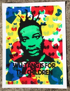 Image of For the Children (Ol' Dirty Bastard print for Dead Rockstars Seattle)
