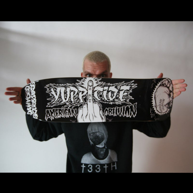 Image of Yuppicide Skateboard Deck & Digital Download Card