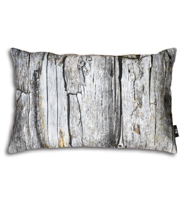 "Image of Swedish Pillow Cover - ""Wood"" (cotton)"