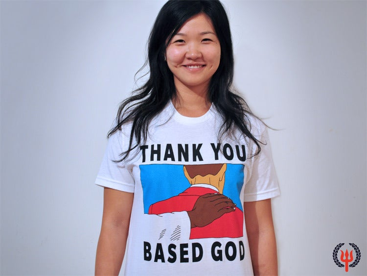 Image of THANK YOU BASED GOD