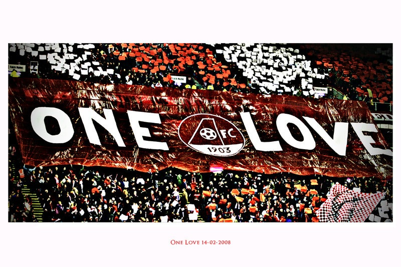 Image of Ltd Ed: One Love - Lomo: Pittodrie 14.02.2008