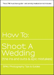 Image of How to: shoot a wedding {the ins and outs & epic mistakes}