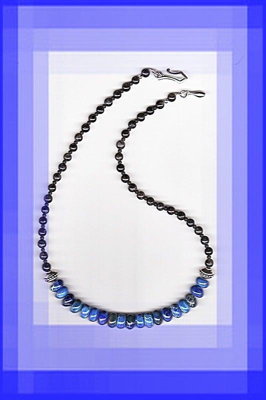 Image of N0468  Dream Jasper Necklace & Optional Bracelet & Earrings